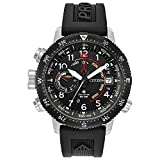 Men's Citizen Eco-Drive Promaster Altichron Black Polyurethane Strap and Black Dial Watch BN5058-07E