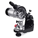 CO-Z Electric Chainsaw Sharpener Kit Chain Saw Blade Grinder - with 2 Grinding Wheels, 1/8-Inch-by-3/16-Inch