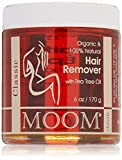 Moom Organic Hair Removal Kit, Tea Tree, 6-Ounce Package