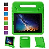 NEWSTYLE Apple iPad Air 2 Case Shockproof Case Light Weight Kids Case Super Protection Cover Handle Stand Case for Kids Children For Apple iPad Air 2 (2014 Released) - Green Color