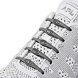 HICKIES Originals - Tie-Free Elastic Shoe Laces (Charcoal)