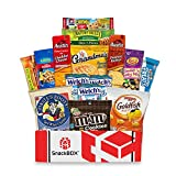 Care Package for College Students, Military, Father's Day, Finals, Birthday, Office Snacks and Back to School with Chips, Cookies and Candy (15 Count) From SnackBOX