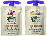GoGo Squeez Yogurtz On The Go, Strawberry, Banana, 3oz, 16ct