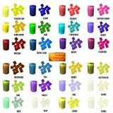 24 Color Wax Dye Cubes – Candle Making Supplies Kit - Soy Dye for Candle Molds - for Soy Candle Wax Kit – for Hemp Candle Wicks - for Making Scented Candles