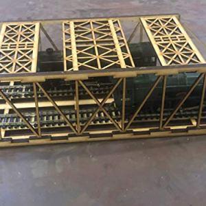 NESH 00 Gauge Twin Girder Railway Bridge 51wc4tO 2BeTL