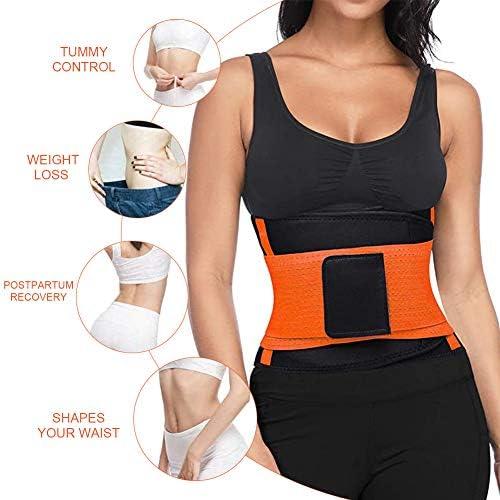 SCOBUTY Waist Trimmer,Waist Trimmer for Women and Men,Slimming Body Shaper Belt,Sport Girdle Belt, Comfortable Adjustable Waist Cincher Trimmer Weight Loss Belt,Back Support Sport Girdle Belt (4XL) 2