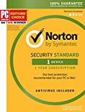 Symantec Norton Security Standard – 1 Device – 1 Year Subscription – [PC/Mac/Mobile Key Card]