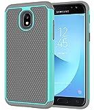 Galaxy J3 2018 Case,Galaxy J3 Star Case,J3 Achieve Case,Galaxy Express/Amp Prime 3 Case,Galaxy J3 V 3rd Gen/J3 Orbit/J3 Aura/Sol 3 Case,Asmart Defender Cover Phone Case for Samsung Galaxy J3V,Mint