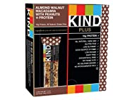 KIND Bars, Almond Walnut Macadamia + Protein, Gluten Free, 10g Protein, 1.4 Ounce Bars, 12 Count
