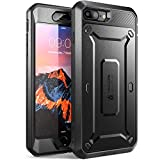 SUPCASE iPhone 7 Plus Case, iPhone 8 Plus Case, Unicorn Beetle Pro Series Full-body Rugged Holster Case with Built-in Screen Protector for iPhone 7 Plus / iPhone 8 Plus (Black)