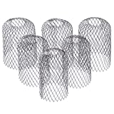 6 Pack - Gutter Guard 3 Inch Expandable Stainless Steel Filter Strainer. Stops Blockage from Leaves and Debris