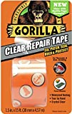 "Gorilla Crystal Clear Duct Tape, 1.88"" x 5 yd, Clear, (Pack of 1)"