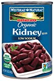 Westbrae Natural Organic Kidney Beans, 15 Ounce