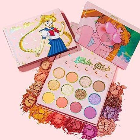 Amazon.com : Sailor Moon x ColourPop Pretty Guardian Eyeshadow Palette :  Beauty