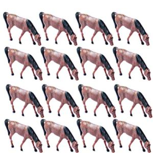 NUOBESTY 16 pcs Jungle Horse Toy Animals Figures Horse Party Favor Supplies Animals Toys Gift Kids Toddlers Cake Toppers Birthdays Cowboy Cowgirl 51x 2BTsQy 9L