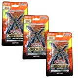 Discover Member/Support Cards for Altergeist, Batteryman, Darklord, Gouki, Monarch, Trap Hole, Vampire and More, Yu-Gi-Oh! Flames of Destruction Blister 3-Pack Bundle Trading Cards!