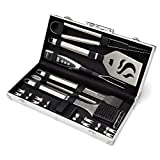 Cuisinart CGS-5020 Deluxe Grill Set, 20-Piece, Stainless Steel
