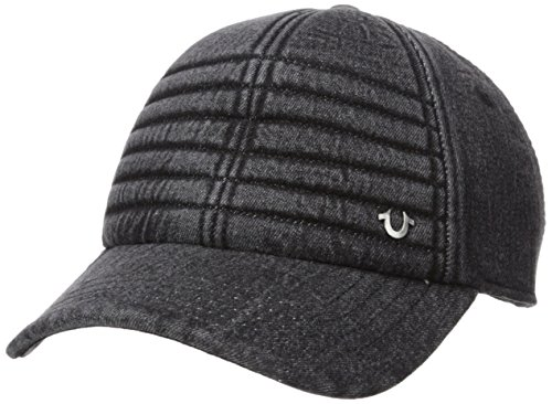 Features a adjustable leather backstrap with embossed buckle and grommet Distressed look on the visor sides