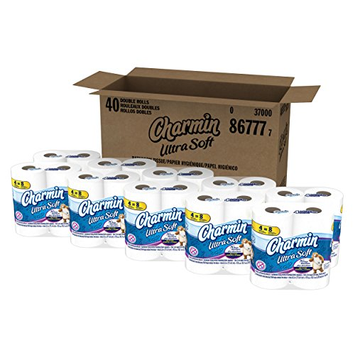 Charmin Ultra Soft Toilet Paper 40 Double Roll (10 Packs of...