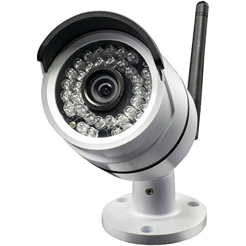 Swann SWNVW-470CAM-US NVW-470 All-in-One Secure Wi-Fi HD Monitoring Camera (White)
