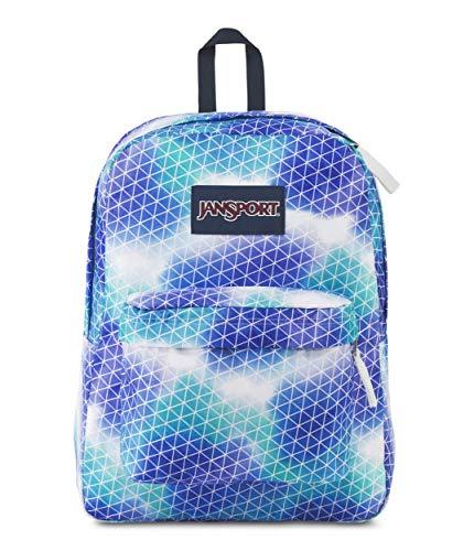 JanSport Superbreak Backpack - Pink Sparkle Dot - Classic, Ultralight