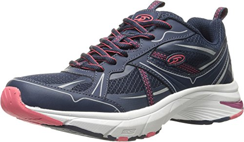 Dr. Scholl's Shoes Women's Persue, Navy Leather, 7 M US