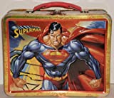 Superman Embossed Tin Lunch Box