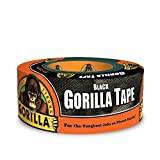 Gorilla Tape, Black Duct Tape, 1.88' x 12 yd, Black, (Pack of 1)