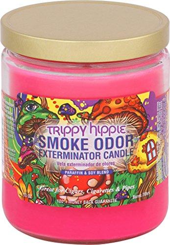 Trippy Hippie Smoke Odor Exterminator Candle