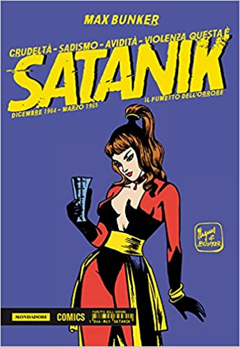 Satanik comicbook cover