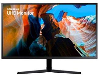 Samsung 32 inch UJ59 4K Monitor (LU32J590UQNXZA) - Gaming Monitor, AMD Freesync, HDMI, wall mount