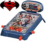 Pinball Machine for Kids / Children / Boys or Girls Mini Table Pin Ball for Children Kids Toys - Ideal for Birthday's, Christmas, Parties (Batman Vs Superman) by i360? Kids