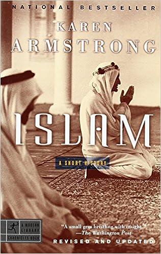 A List of Books on Islamic history