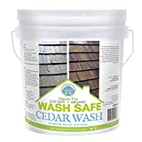 Wash Safe Industries CEDAR WASH Eco-Safe and Organic Wood Cleaner, 10 lb Container