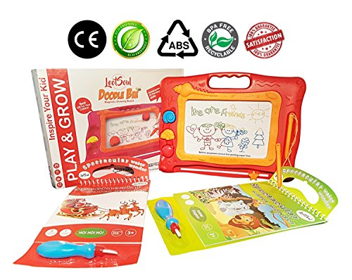 Travel Size MAGNETIC DRAWING BOARD For Toddler With TWO WATER ...