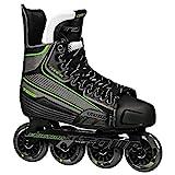Tour Hockey Code 9 SR Inline Hockey Skate, Black/White/Red, 05