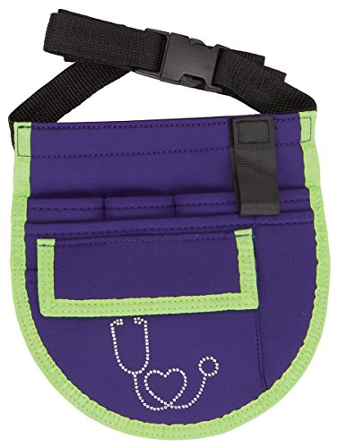 Cherokee CMGNA Ladies's Nurseatility Organizer Belt Purple/Lime Trim One Measurement deal 50% off 51xb nsfTHL