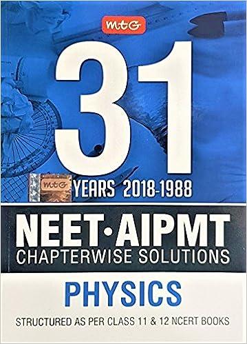 Buy MTG 31 Years Physics 2018-1988 NEET/AIPMT Chapterwise ...