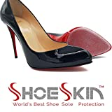 ShoeSkin - Clear Sole Protectors for Christian Louboutin Heels, Jimmy Choo, High Heels, Men's Shoes - Non Slip Texture