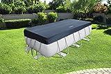 Bestway Frame Pool Cover, 156'X73'