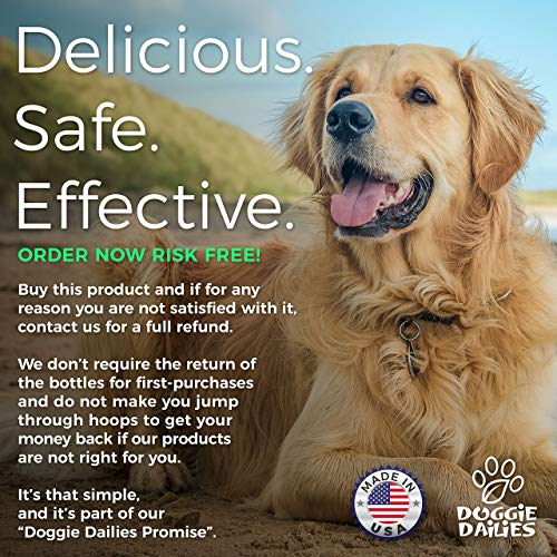 Doggie Dailies Glucosamine for Dogs: 225 Soft Chews, Advanced Hip & Joint Supplement for Dogs with Glucosamine, Chondroitin, MSM, Hyaluronic Acid & CoQ10, Premium Joint Relief for Dogs Made in the USA 9