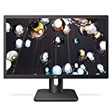 AOC 27E1H 27' Full HD 1920x1080 Monitor, IPS Panel, 5ms, FlickerFree, HDMI/VGA, VESA Compatible, EPEAT Silver, EnergyStar