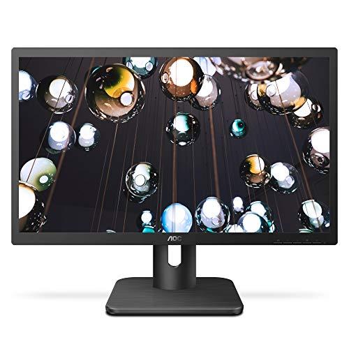 AOC 20E1H 19.5' HD 1600x900 Monitor, 5ms, FlickerFree, HDMI/VGA, VESA Compatible, EPEAT Silver, EnergyStar