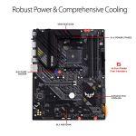 ASUS TUF Gaming B550-PLUS AMD AM4 Zen 3 Ryzen 5000 & 3rd Gen Ryzen ATX Gaming Motherboard (PCIe 4.0, 2.5Gb LAN, HDMI 2.1…