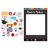 Back to School Photo Booth Props with Frames