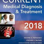 Download Free Medical Book Current Medical Diagnosis and Treatment 2018 ,57th Edition