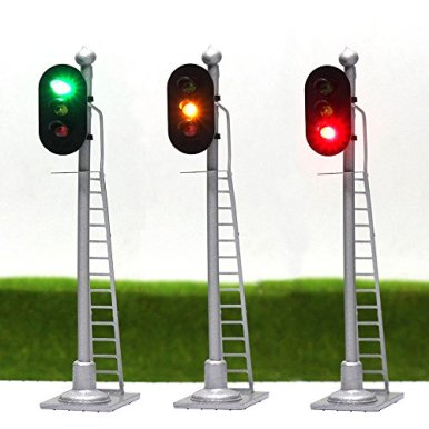 JTD873GYR-3PCS-Model-Railroad-Train-Signals-3-Lights-Block-Signal-HO-Scale-12V-Green-Yellow-Red-Traffic-Lights-for-Train-Layout-New