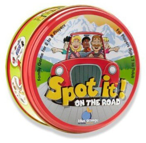 Blue Orange 00416 Spot It!™ On The Road Game
