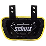 Schutt Sports Neon Football Back Plate, Neon Yellow, Youth