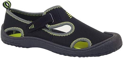 NEW BALANCE - Sandalia NB Kids Cruiser Black/Lime